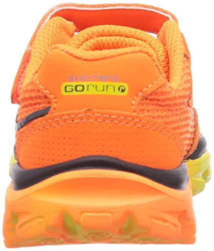 Skechers GO Run Ride Lil Rider, Sneakers basses garçon Orange - Orange (ORCC)
