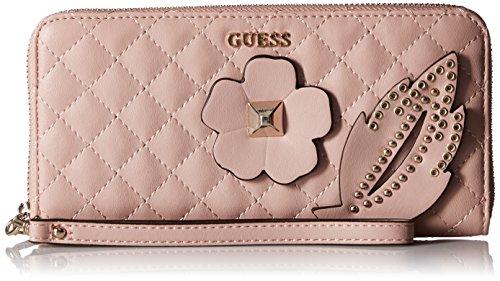 Guess Geldbörse Portemonnaie Steppoptik Rosa Cameo VG677946