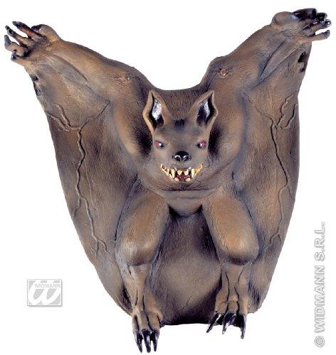 Fledermaus Halloween Wanddeko-Figur 50x50cm (Schnelle Last Minute Halloween Kostüme)
