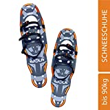 WOLF IMPRESSION 27 Schneeschuhe (Snow Shoes, Steigeisen, Schneewanderschuhe, Schneeschuhwandern, Eisschuhe, Steighilfe, Schuhe-Krallen, Boa, Harscheisen, Steig Ski, Snow Feat, Tiefschneeschuhe, Spikes, Fersenriemen, Schneeboots) ...