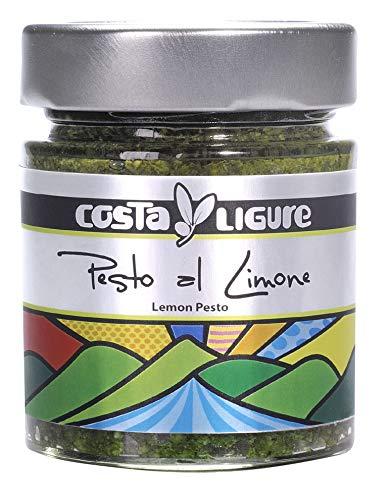 Costa Ligure Pesto al Limone (Lemon) Zero VAT, 135 g x 12