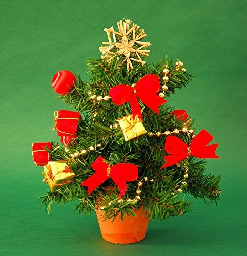 Árbol de Navidad árbol mesa Árbol de Navidad Incluye Decoración aprox. 20cm de altura, aprox. 27cm de ancho (12829navideño) width=