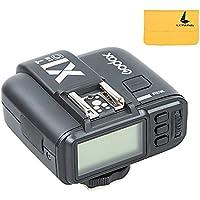 Godox X1T-C E-TTL Inalámbrico 2.4G Flash HSS 1/8000s 32 Canales Remote Transmisor Inalambrico Disparador para Canon EOS 650D 600D 550D 500D 5D Serie Cámaras (X1T-C)