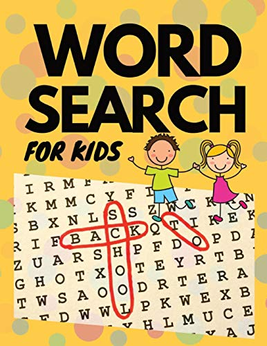 Word Search For Kids: 50 Large Print Word Search Puzzles