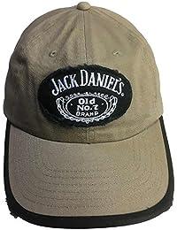 Jack Daniel Embroidered Old Number 7 Brand Distressed Baseball Cap