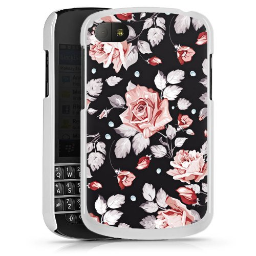 DeinDesign Blackberry Q10 Hülle Case Handyhülle Roses Rosen Flowers