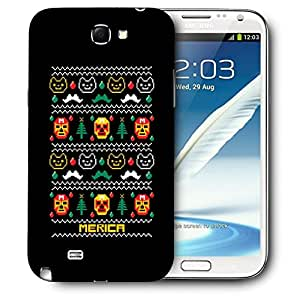 Snoogg Merica Designer Protective Back Case Cover For SAMSUNG Galaxy Note 2 N7100