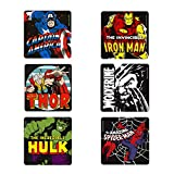Logoshirt Untersetzer Set Mix Marvel Heroes Coaster multi - ca 10 cm x 10 cm