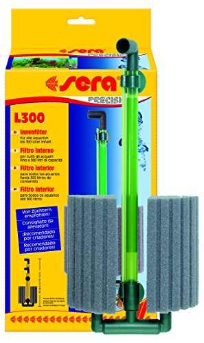 sera 08535 Innenfilter L300 für Aquarien bis 300 Liter - ideal zur Zucht von Zierfischen oder Garnelen usw.