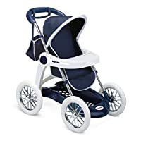 Smoby 7600250381 Folding Pushchair Blue Mix
