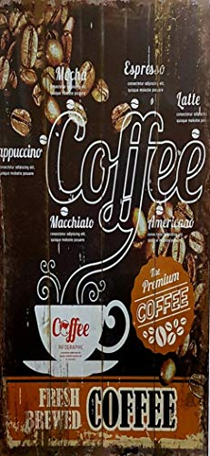 MI RINCON Cuadro Madera Vintage The Premium Coffee