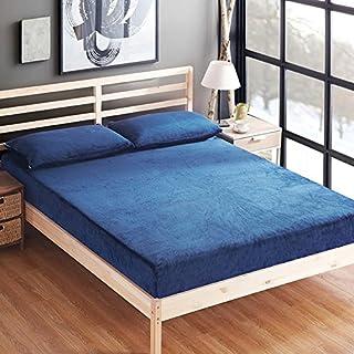 FHFGHYURBNYFGHFBY Einfaches warmes Bett/Einzel-tagesdecke/matratzenbezug/Protector/staubdichte Abdeckung/Haushalt/tägliche notwendigkeiten-A 180x200cm(71x79inch)