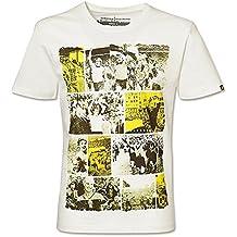 BVB 0915211103–Camiseta para hombre con impresiones retro del Borussia de Dortmund, talla XL