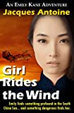 Book cover image for Girl Rides the Wind (An Emily Kane Adventure Book 6)