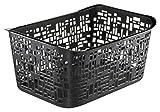 Rotho 1167308080 Aufbewahrungskorb Urban Gross, aus Kunststoff PP, praktisch und Schick, Inhalt 10 L, Circa 37 x 26,8 x 17,5 cm, Schwarz