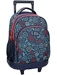 Roll Road Go 4112962 Mochila Tipo Casual, 43 cm, 28.90 Litros, Multicolor