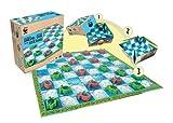 Terra Toys 29121-WWF-Damespiel Schildkröten