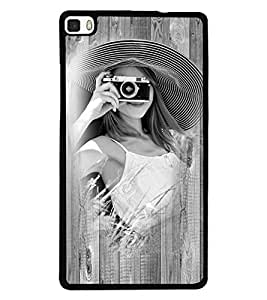 Fuson 2D Printed Girly Designer back case cover for Huawei P8 - D4448