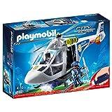 Playmobil City Action 6921 - Elicottero della Polizia con Faro Illuminante a LED, dai 4 anni