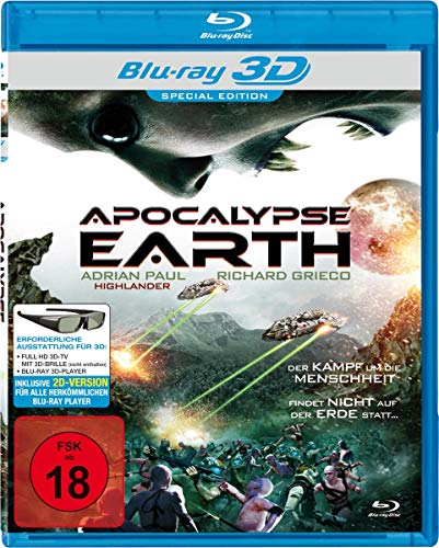 Apocalypse Earth - 3D Blu-ray & 2D Version [Special Edition]