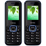 I KALL K19(Blue) And K19(Blue) Combo Of Dual Sim Mobile, 1000 MAh Battery Capacity With 101 Days Replacement Warranty With 1 Year Manufacturer Warranty