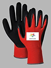 SAFEYURA® Garden Works Hand Gloves Gardening Gloves Pack - 2Pairs