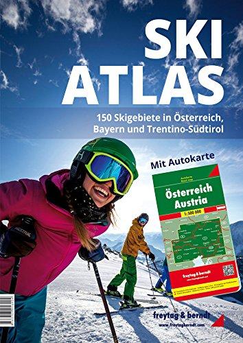 Preisvergleich Produktbild Ski-Atlas - 150 Skigebiete in Österreich, Bayern und Trentino-Südtirol (freytag & berndt Bücher + Specials)