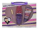 Justin Bieber's Girlfriend Set (Eau de Parfum, Körpercreme, mini Eau de Parfum, gratis Klingelton) 1er Pack