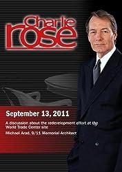 Charlie Rose - Redevelopment Effort at the World Trade Center; Michael Arad (Spetember 13, 2011) [DVD] [NTSC]