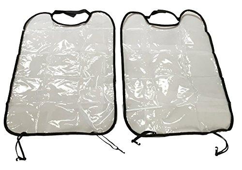 2 Stück Rücklehnenschutz Transportschutz Schutzhülle Schutzfolie für Auto KFZ - Schutzmatte für Sitz Rückseite - keine verschmutzten Fußabdrücke auf dem Sitz