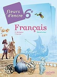 Fleurs d'encre français 6ème grand format - Edition 2014