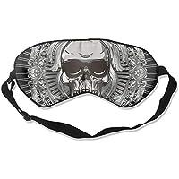Sleep Eye Mask Skull Abstract Lightweight Soft Blindfold Adjustable Head Strap Eyeshade Travel Eyepatch E10 preisvergleich bei billige-tabletten.eu