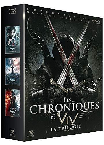 Coffret trilogie les chroniques de viy : les origines du mal ; le chasseur de démons ; le cavalier noir [Blu-ray] [FR Import]