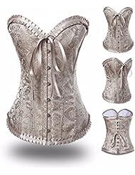 Yall Dama ropa interior apretada corsé propensas de impresión