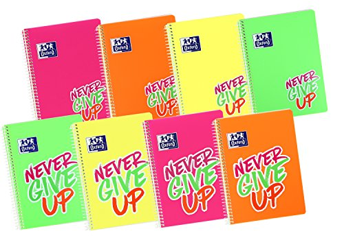 Pack de cuadernos Never Give Up