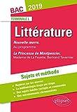 Hernani, Victor Hugo et La princesse de Montpensier, Madame de Lafayette/Bertrand Tavernier. Sujets et méthode. BAC L 2019