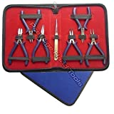 Prestige Mini Pliers Set Beading tools Kit Jewellery making tools with Nylon Jaw pliers #1798