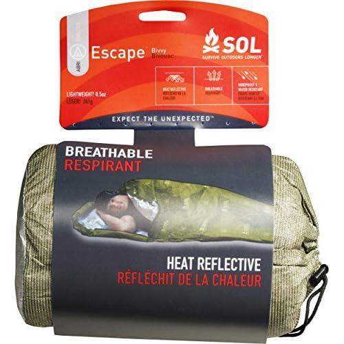 51dzfS%2BQNgL. SS500  - Sol Survive Outdoors Longer Escape Bivvy Blanket