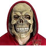 CreepyParty–Máscara de Halloween Costume Party Látex Máscara de cabeza completa calavera heads2