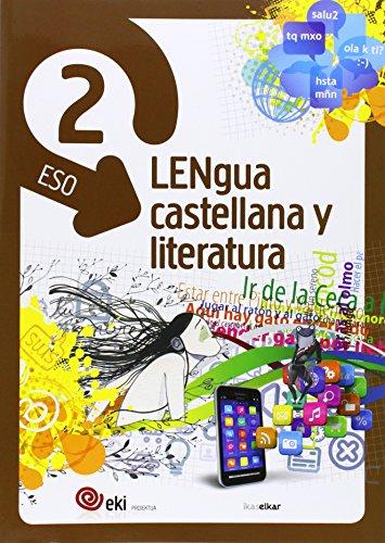 EKI DBH 2. Lengua castellana y Literatura 2 (Pack 3) (EKI 2) - 9788415586517