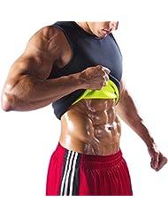 Débardeur Amincissant - Redushaper Homme / T-shirt-Minceur / Tailles : S/M/L/XL/XXL / Ceinture de sudation parfait pour réduire vos poignées d'amour
