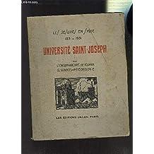 LES JESUITES EN SYRIE (1831-1931) - UNIVERSITE SAINT JOSEPH (TOME VIII : L'OBSERVATOIRE DE KSARA ET LES SERVICES DE METEOROLOGIE)