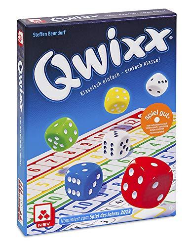 NSV - 4015 - QWIXX - nominiert zum Spiel des Jahres 2013 - Würfelspiel