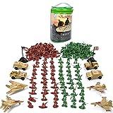 leegoal 210 Stück Plastik Soldaten Armee Action Figuren Spielzeug Für Kinder