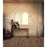 Vintage Room pared piso fotografía fondos para boda diseño de muebles de madera fondo de fotografía Photo Studio 8x 10FT