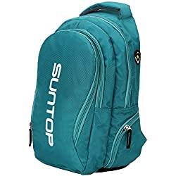 Suntop Neo 3 Reflector Waterproof Fabric Medium Laptop Backpack-Green