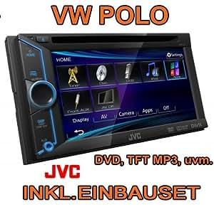 Volkswagen polo 9N 9N3 & jVC-kW-v10E - 2DIN multimédia avec