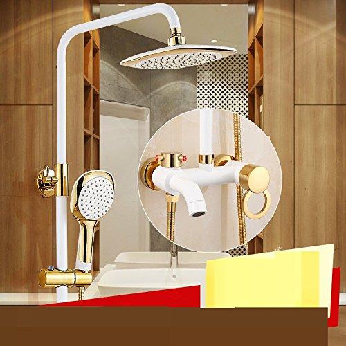 ZYJYwc - lift europa kupfer white farbe wc dusche package düse tap mischen ventil - (Durchlauferhitzer Wc Ventil)