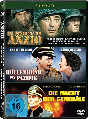 assiker 3er Box - Die Schlacht um Anzio + Höllenhunde des Pazifik + Die Nacht der Generäle DVD Limited Edition ()