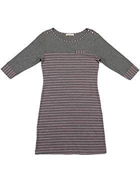 CHUNHUA La signora della moda manica a righe maglia modale camicia tuta pigiama (colore facoltativo) , pink stripes...